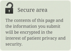 The contents of this page and encrypted and secure